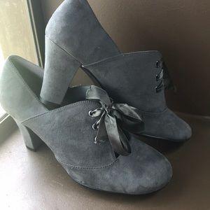 Aerosoles Gray Oxford heel